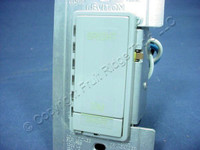 Leviton Gray Multi-Way Dimmer Switch MicroDim Preset LED 3-Key 1000W Incandescent 1000VA Inductive 11071-PGY