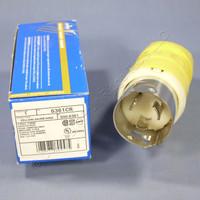 Leviton Turn Locking Marine Plug Twist Lock NON-NEMA 125V 50A Corrosion Resistant 6361CR