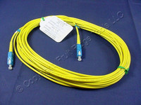 10M Leviton Fiber Optic Single-Mode Simplex Patch Cable Cord SM SC UPC UPSSC-S10