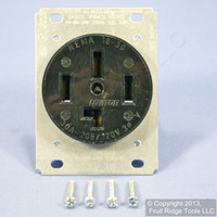 Leviton 18-30 Receptacle Power Outlet NEMA 18-30R 30A 3ØY 120/208V Bulk 8330