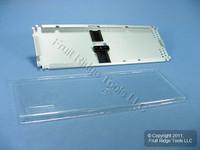 "Leviton Fiber Optic 4"" x 11.75"" Universal Splice Tray T4LHS-P06"
