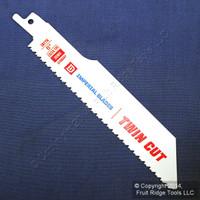 "Imperial 6"" Twin-Cut Bi-Metal Reciprocating 10/14 TPI Cutting Saw Blade IBTT6"