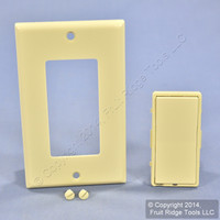 Leviton Ivory Color Conversion Kit For Monet Light Dimmer Switch Remote MNK0R-I