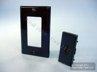 Leviton Black Color Change Conversion Kit for L/S Mural Dimmer Switch MRK0D-LE