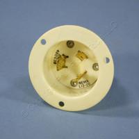 Bryant Twist Locking Flanged Inlet Plug NEMA L11-20P 20A 250V 3Ø Bulk L1220FI