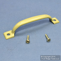 "National Hardware #V200 BakEnamel® Brass Finished Steel 4-3/4"" Pull Handle N117-671"