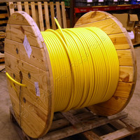 1748ft BerkTek Armored Standard LT 36-Fiber Adventum SM Plenum Fiber Optic Cable