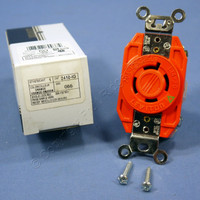 Leviton L14-20 Isolated Ground Locking Receptacle Outlet Twist Lock 20A 125/250V NEMA L14-20R 2410-IG