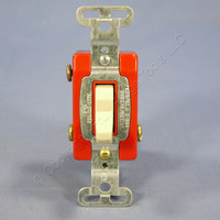 Pass & Seymour Ivory COMMERCIAL Toggle Light Wall Switch 3-Way 20A Bulk CS320-I