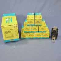 10 Leviton L12-30 Locking Receptacles Turn Lock Outlets NEMA L12-30R 30A 480V 3Ø 71230-FR