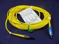 10M Leviton Fiber Optic Singlemode Simplex Patch Cable Cord SC FC SPC SPSCF-S10