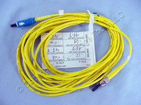 5M Leviton Fiber Optic Singlemode Simplex Patch Cable Cord ST SC SPC SPSCT-S05
