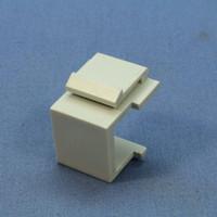 Cooper Aspire White Satin (Pale Gray) Solid Modular Wallplate Blank Port Filler Insert 9558WS