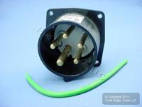 Leviton Pin & Sleeve Splashproof Plug Inlet 20A 347/600VAC 3ØY SP520B5
