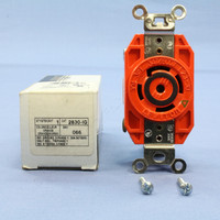 Leviton Isolated Ground L23-30 Locking Receptacle Twist Lock Outlet NEMA L23-30R 30A 347/600V 3ØY 2830-IG