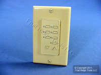 Leviton BLANK Ivory Face Plate Color Change Kit For Decora 6-Scene Controller DCK6S-BI