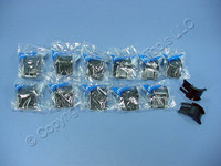 12 Leviton Versi-Duct Patch Cord Cable Bend Radius Organizer Routers 49265-CR1