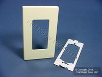 Leviton Almond 1-Gang Standard Decora Screwless Wallplate GFCI GFI Cover 80301-A