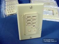 10 Leviton Almond Face Plate Color Change Kits For Decora 6-Scene Controller DCK6S-A