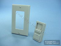 Leviton Gray Color Change Conversion Kit for Illumatech Dimmer Switch IPKIT-G