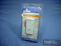 Leviton Gray TouchPoint TOUCH Light Dimmer Switch Decora 600W TPI06-1LG