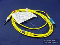 2M Leviton Fiber Optic Singlemode Simplex Patch Cable Cord ST/SC PC PCSCT-S02