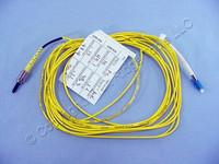 5M Leviton Fiber Optic Singlemode Simplex Patch Cable Cord FC LC SPC SPSFL-S05