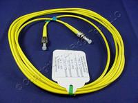 3M Leviton Fiber Optic Single-Mode Simplex Patch Cable Cord ST FC UPC UPSTF-S03
