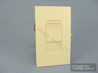 Leviton Ivory Monet Fluorescent Slide Light Dimmer Switch Ecotron Mark X 1000VA 750W 120V MNX10-1LI