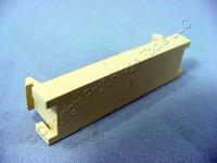New Leviton Ivory 1-Port MOS Blank Wallplate Insert Module 0.5 Unit 41295-5BI
