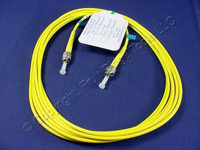 3M Leviton Fiber Optic Single-Mode Simplex Patch Cable Cord SM ST UPC UPSST-S03