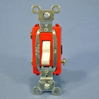 Pass & Seymour Light Almond COMMERCIAL Toggle Light Switch 3-Way 20A CS20AC3-LA