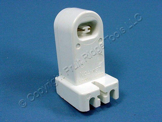 10 Leviton High Output T8 T12 Fixed Fluorescent Lampholder Socket Horizontal 465
