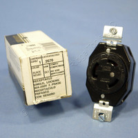 Leviton L11-30 Locking Receptacle Outlet NEMA L11-30R 30A 250V 3Ø 2670-061 Boxed