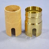 Leviton Pull Chain or Turn Key/Knob Light Socket Electrolier Lamp Holder Metal Shell 250W 7113