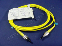 2M Leviton Fiber Optic Single-Mode Simplex Patch Cable Cord SM FC UPC UPSFC-S02