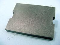 New Leviton Snap-In Black MOS Wallplate Blank Insert Module 1.5 Unit 41294-2BE
