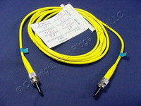 2M Leviton Fiber Optic Single-Mode Simplex Patch Cable Cord SM ST UPC UPSST-S02