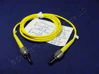 1M Leviton Fiber Optic Singlemode Simplex Patch Cable Cord FC FC SPC SPSFC-S01