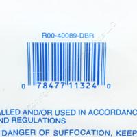 Leviton 89D 110 Phone Wiring M Block Mounting Bracket 25 and 50 Pair 40089-DBR