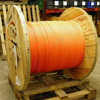 3419-Feet AFL 36-Fiber MM Sub-Unitized Premise MicroCore2.0 Fiber Optic Cable