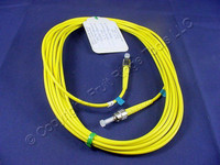 5M Leviton Fiber Optic Single-Mode Simplex Patch Cable Cord ST FC UPC UPSTF-S05