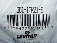 Leviton Black 17 Series ECT 90° Style Cam Plug Panel Receptacle Threaded Stud 690A 600V 17R21-E