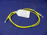 1M Leviton Fiber Optic Single-Mode Simplex Patch Cable Cord FC FC UPC UPSFC-S01