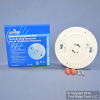 New Leviton Keyless Compact Fluorescent Ceiling Lampholder 13W 9860