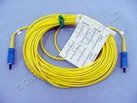 10M Leviton Fiber Optic Singlemode Simplex Patch Cable Cord SC SC SPC SPSSC-S10