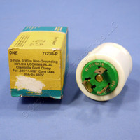 New Leviton Turn Locking Plug Twist Lock NEMA L12-30P 30A 480V 3 Phase 71230-P