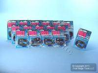 """16 Leviton Black 18"""" Coaxial Video Cables RG59 C5851-1E"""