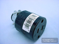 Leviton RESIDENTIAL Straight Blade Connector Plug NEMA 1-15 15A 125V 612 Bagged