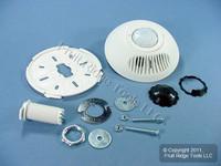 Leviton White DUAL RELAY Multi-Tech 180° Ceiling Occupancy Motion Sensor 500 ft° ODC10-MRW